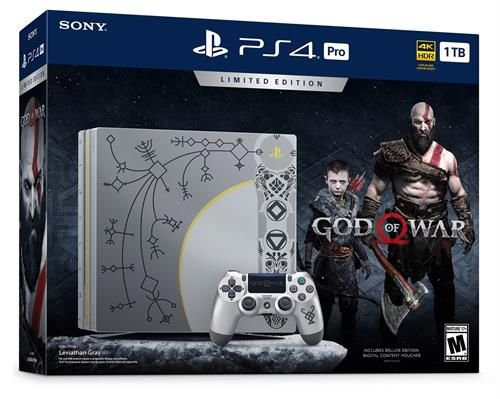 Consoles Playstation 4 Pro 1TB - God Of War Limited Edition