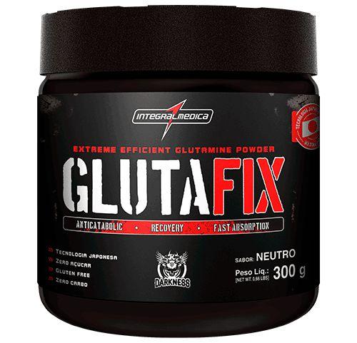 Gluta Fix (Glutamina) 300g - Integral Medica - Darkness