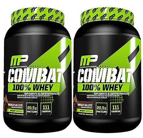 2x Combat 100% Whey 907g