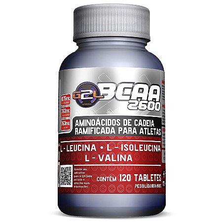 Bcaa 2600 120 Tabletes - G2L Nutrition