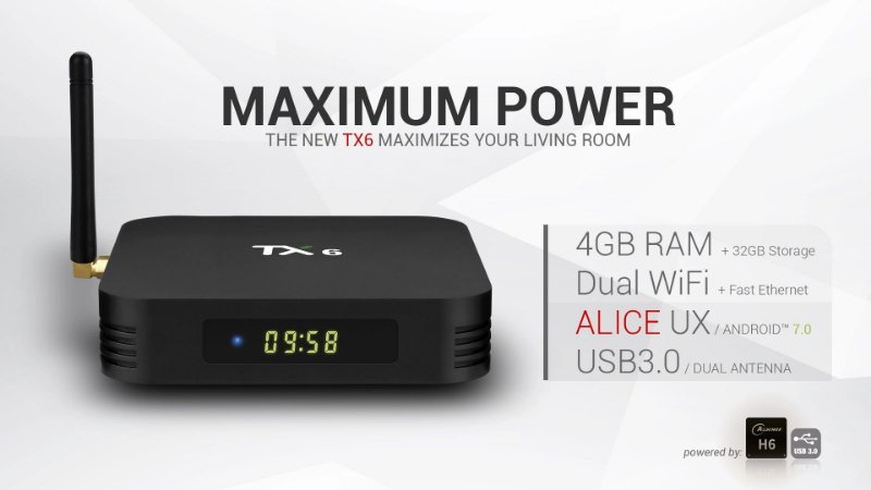 Tv Box Tanix Tx6 32gb 4gb Android 9
