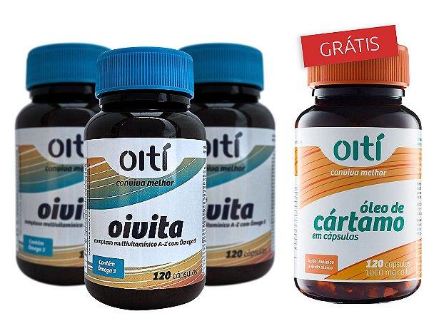Kit Oivita + Óleo de Cártamo