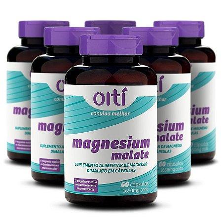 Kit 6 unidades – Magnesium Malate – Magnésio Dimalato