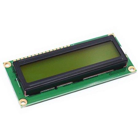 Display Lcd 16x2 1602 Fundo Amarelo Blacklight Arduino-pic