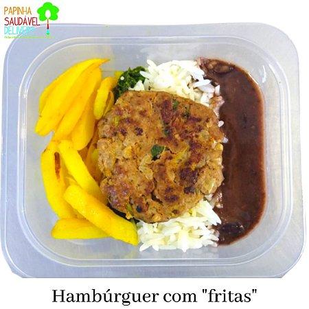 "Hamburguer com Batatas ""fritas"""