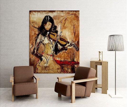 Quadro Decorativo Tela Mayra 100 x 80 cm