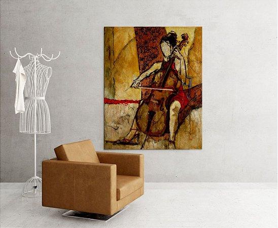 Quadro Decorativo Tela Rebecca 100 x 80 cm