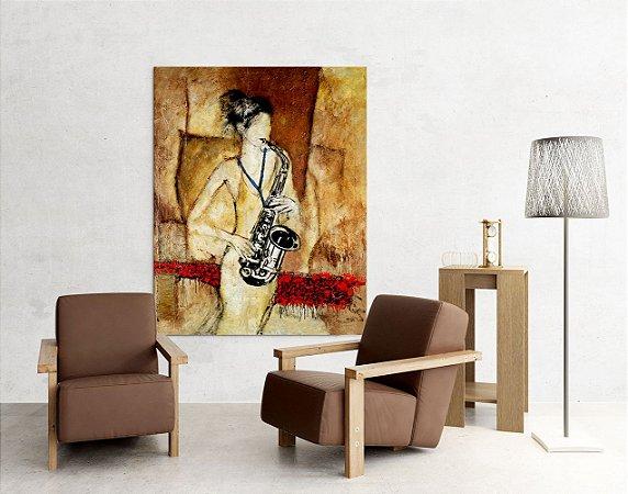 Quadro Decorativo Tela Rachel 100 x 80 cm