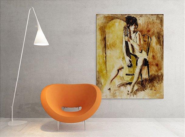 Quadro Decorativo Tela Love Song 100 x 80 cm
