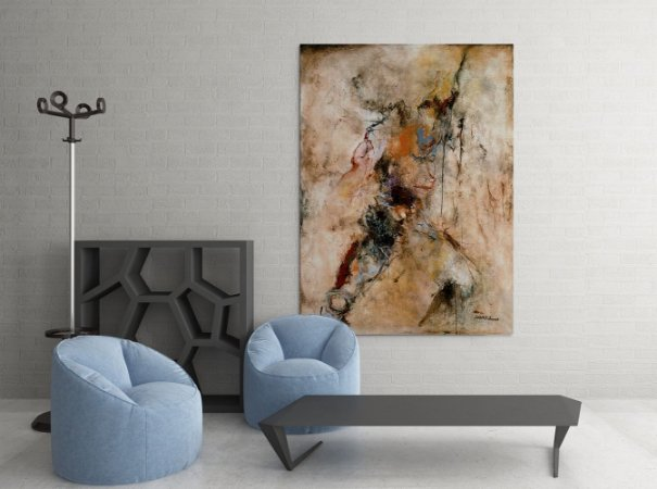 Quadro Decorativo Tela Graceful Creation 100 x 80 cm