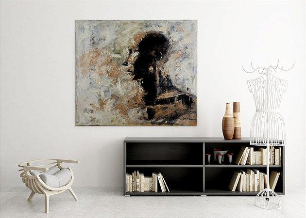 Quadro Decorativo Tela Zoar 80 x 100 cm