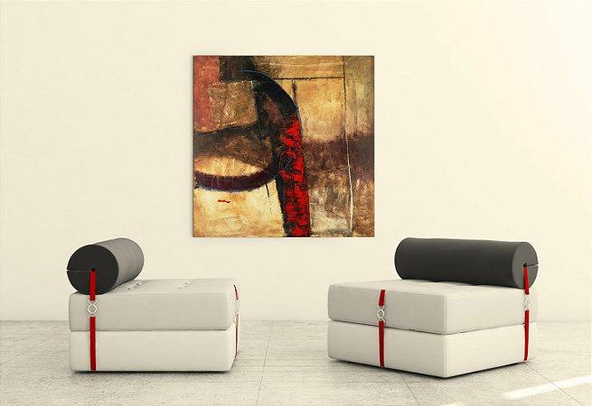 Quadro Decorativo Tela Miracle 2 100 x 100 cm