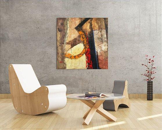 Quadro Decorativo Tela Mie-Ken 100 x 100 cm