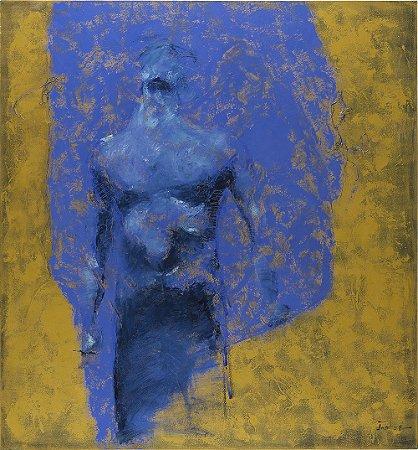 Arte Contemporânea Tela Explosão 80 x 75 cm