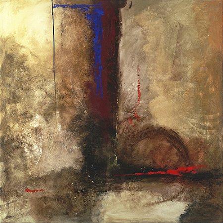 Arte Contemporânea Tela La Furia 70 x 70 cm