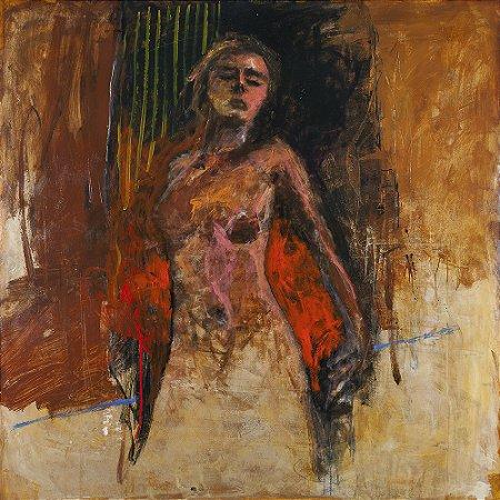 Arte Contemporânea Tela O Chamado da Sabedoria 70 x 70 cm