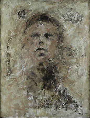 Arte Contemporânea Tela The Connoisseur 80 x 60 cm