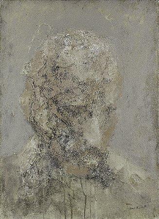 Obra Original Pintura sobre Tela, Maturidade, Acrílica, 72 x 53 cm