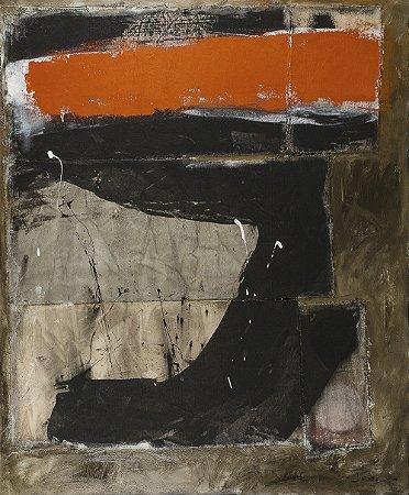 Obra Original Pintura sobre Tela, Rock I, Mista, 120 x 100 cm