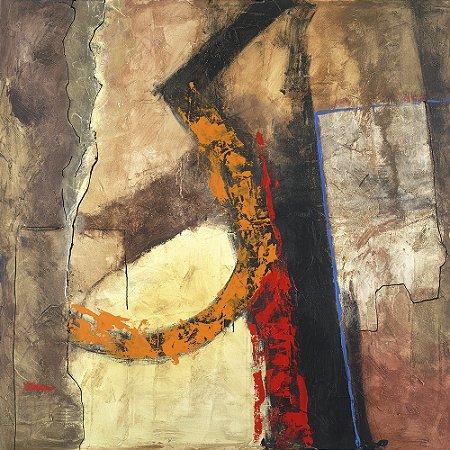 Quadro Tela Mie-Ken 115 x 115 cm