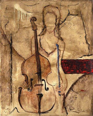 Quadro Tela Principal Cello 125 x 100 cm