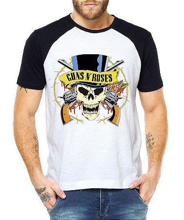 Camiseta Raglan Guns N Roses