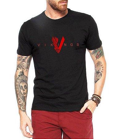 Camiseta Vikings Seriado Masculina