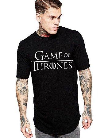 Camiseta Game Of Thrones Long Line Oversized