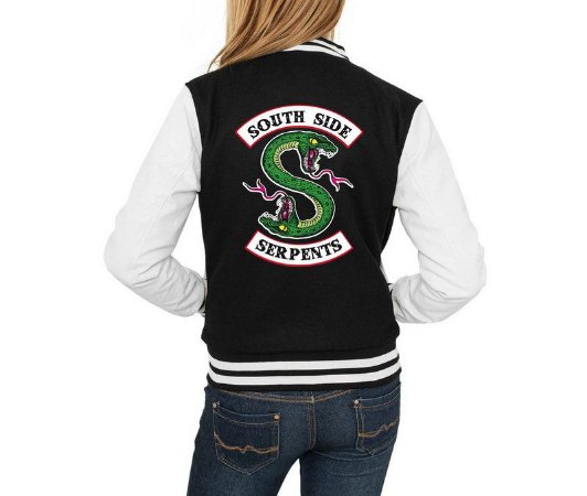 Jaqueta College Riverdale South Side Serpents Feminina