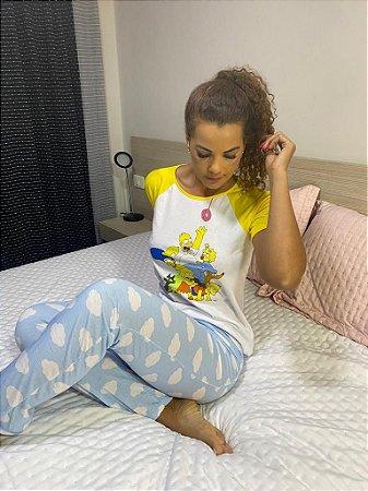 Pijama Simpsons Family