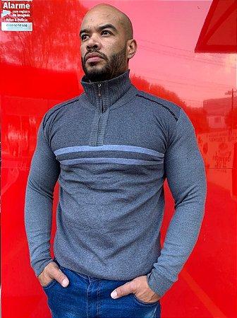 Suéter Masculino com gola