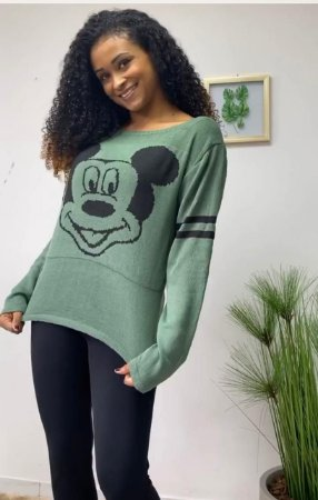 Blusa Tricot Mickey