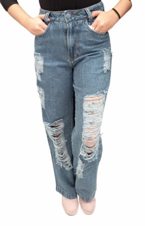 Calça Feminina Wide Leg