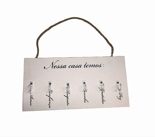 Porta Chaves - ''Nessa casa temos''