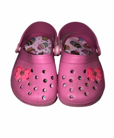 Crocs Infantil Laço Rosa