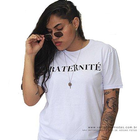 Camiseta Spirito Santo Branca - FRATERNITÉ