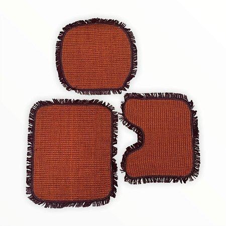 Kit Tapete Banheiro - 3 Peças