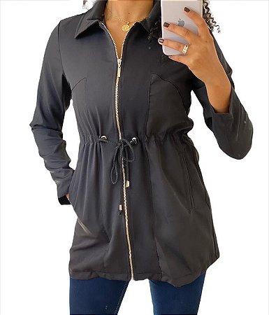 Parka jaqueta feminina