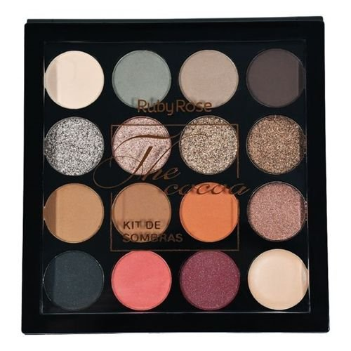Kit sombras Ruby Rose The Cocoa