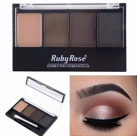 Paleta de sombras para sobrancelhas Ruby Rose