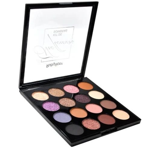 Paleta sombra Ruby Rose 15 cores - The Flowers