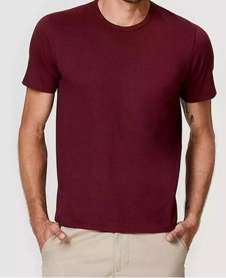 Camiseta Slin adulto masculina