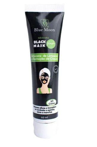 Mascara preta facial Blue Moon - Xô cravos