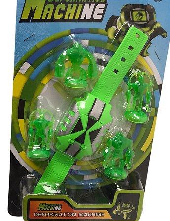 Relógio Deformation Machine Ben 10