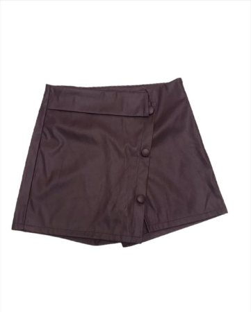 Short saia adulto em sintético