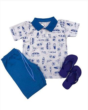 Conjunto infantil Style menino Azul