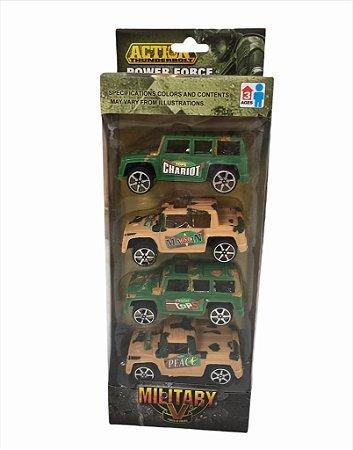 Kit de Carrinhos Military
