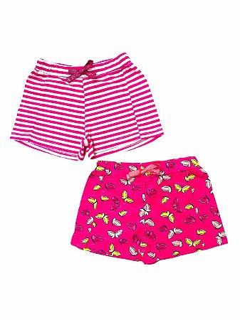 Kit 2 Shorts Infantil
