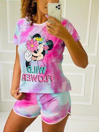 Pijama Minnie Tie Dye