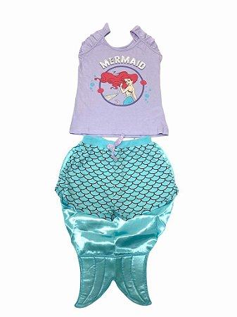 Pijama Infantil Ariel + Calda